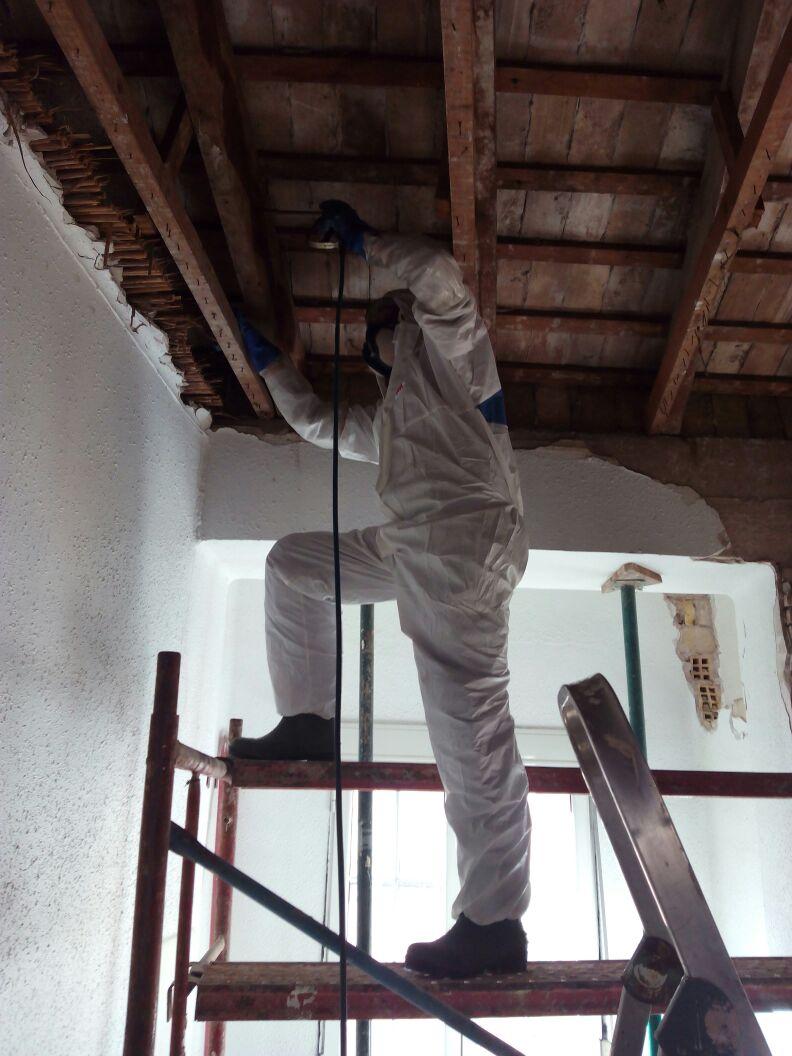 tratamiento de la madera vigas